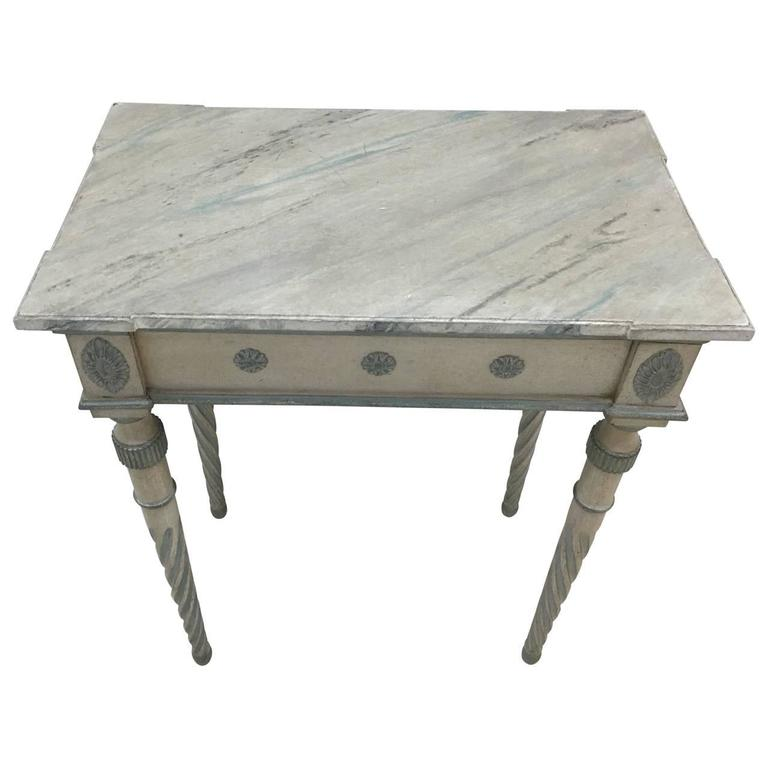 Swedish Early 19th Century Gustavian Console For Sale