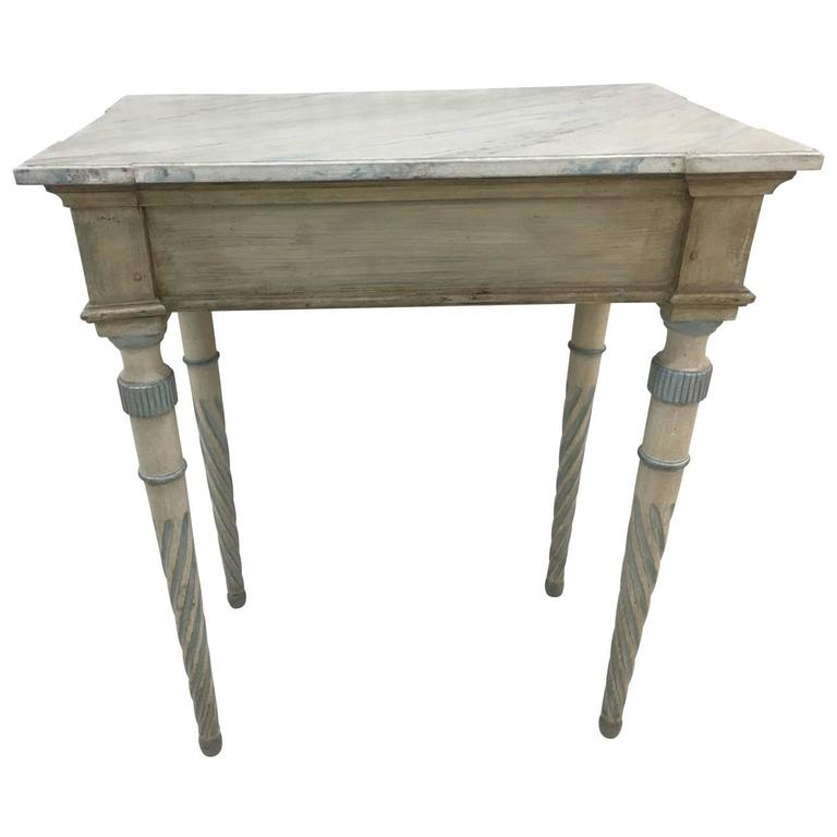 Wood Early 19th Century Gustavian Console For Sale
