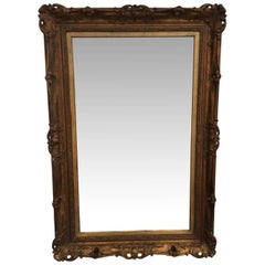 Large Gilded Mirror Frame