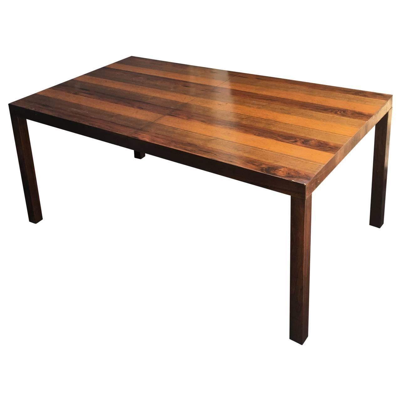 Mid century modern dining table for sale at 1stdibs for Modern dining tables sale