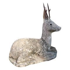 Swedish Garden Sculpture of a Deer