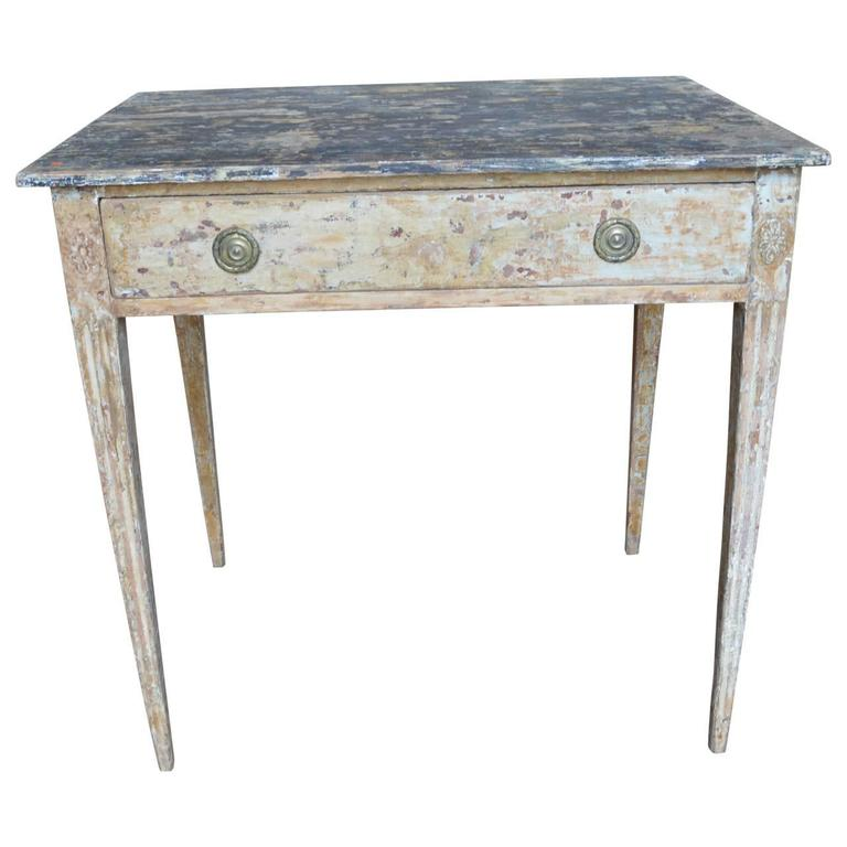 Late 18th century gustavian end table for sale at 1stdibs for Oka gustavian side table