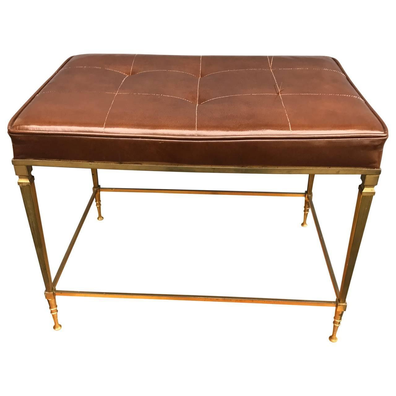 Neoclassic Piano Bench At 1stdibs