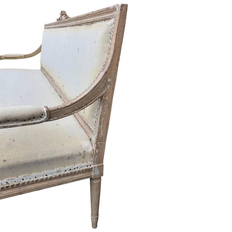 Early 19th Century Swedish Settee For Sale 1