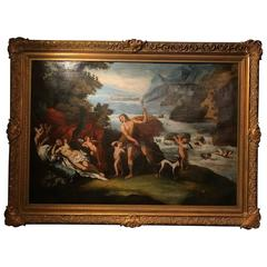 18th Century Italian Romantic Oil Painting
