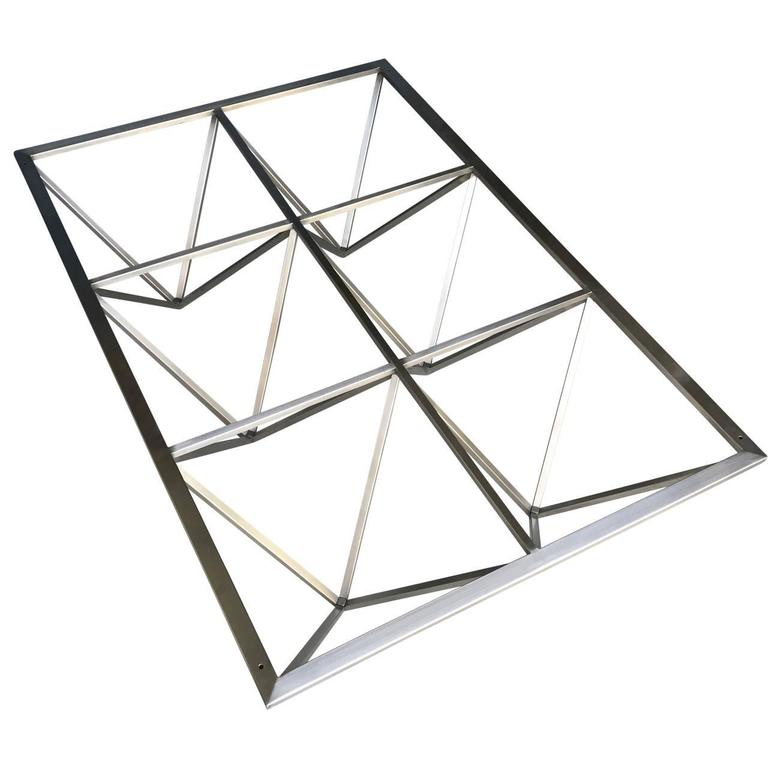 Modern Italian Paolo Piva Style Cocktail And Coffee Table Base For Sale