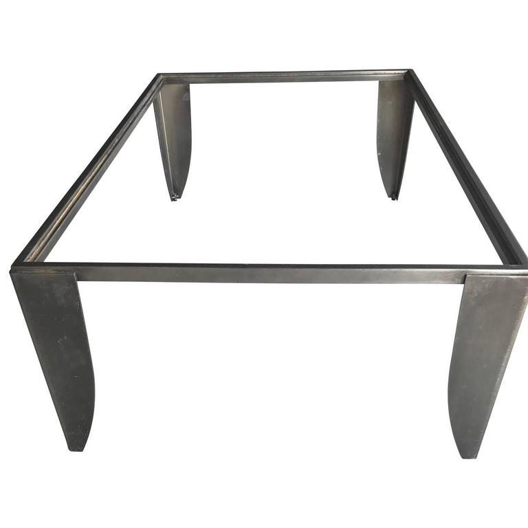 Modern Steel Cocktail Table 4