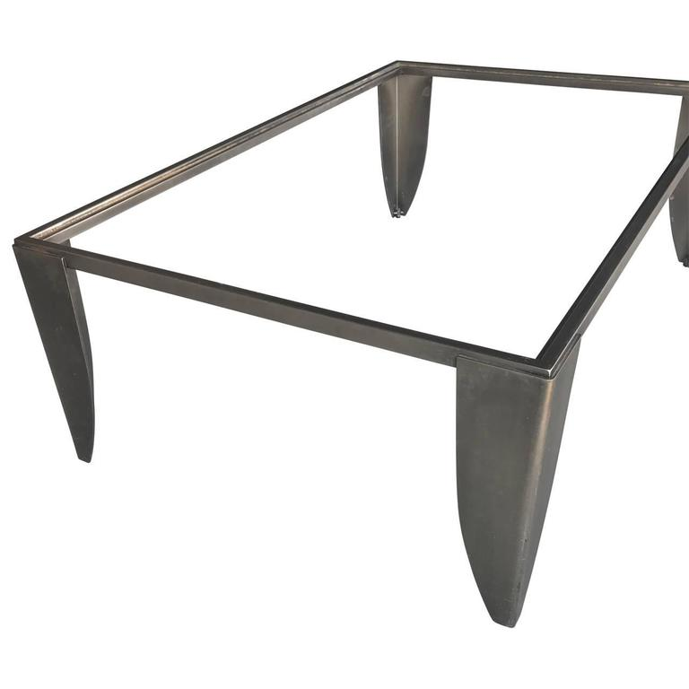 Modern Steel Cocktail Table 6
