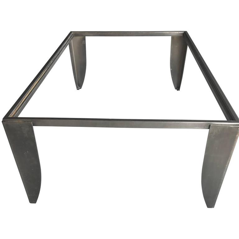 Modern Steel Cocktail Table 7