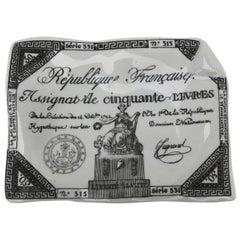 Vintage Fornasetti Porcelain Ashtray