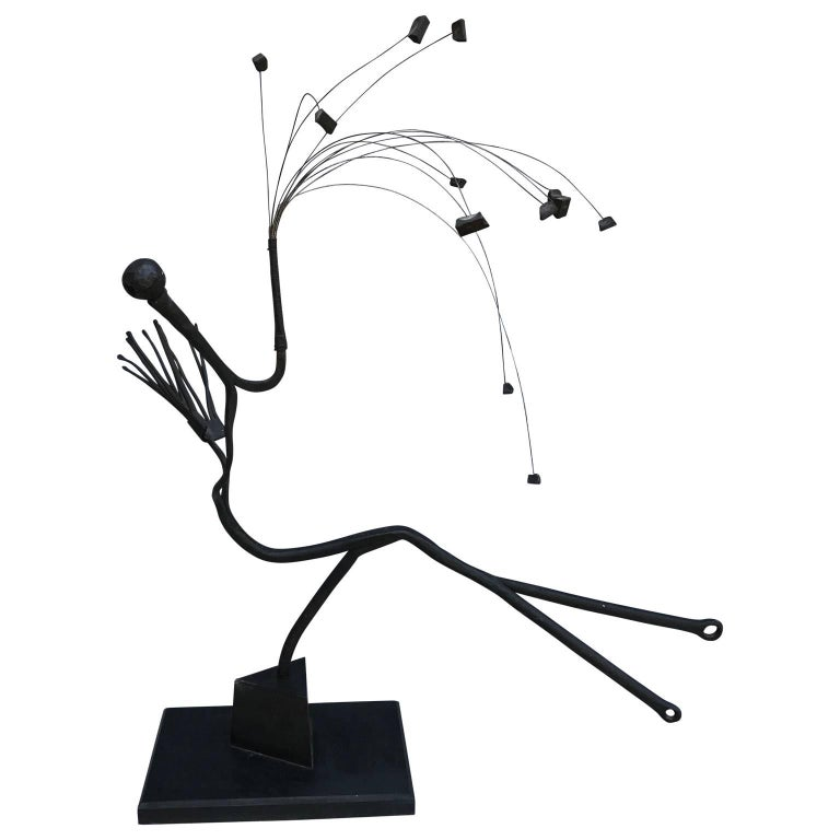 Large Abstract And Mobile Modern Sculpture