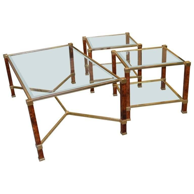 Pierre Vandel Cocktail and Side Tables