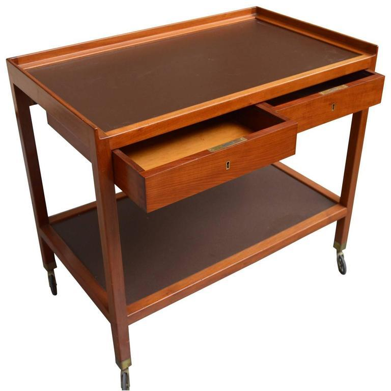 20th Century Serving Trolley by Frits Schlegel For Sale
