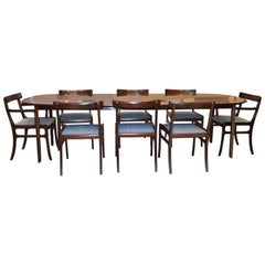 Ole Wanscher Rungstedlund Dining Table and Chairs