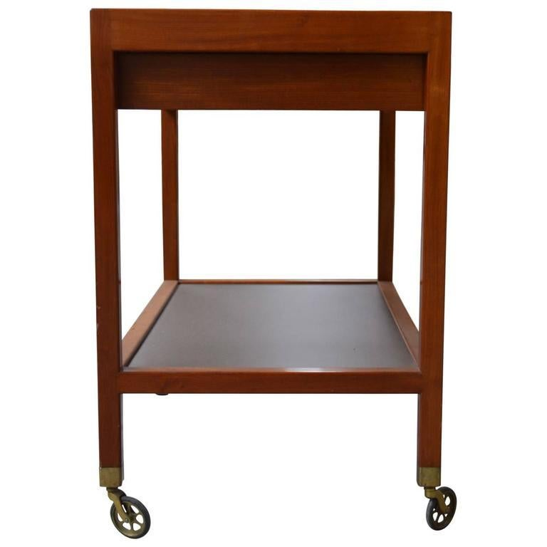 European 20th Century Serving Trolley by Frits Schlegel For Sale