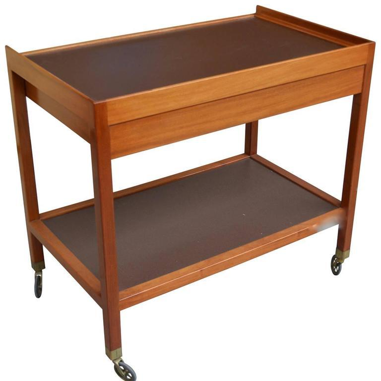 20th Century Serving Trolley by Frits Schlegel For Sale 1