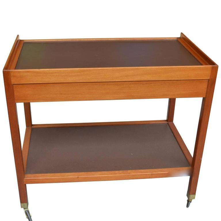 20th Century Serving Trolley by Frits Schlegel For Sale 2