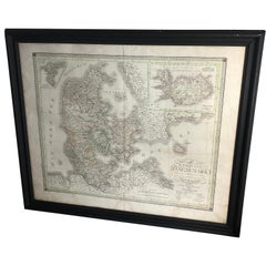 Antique Map of Denmark by C. F. Weiland, 1829