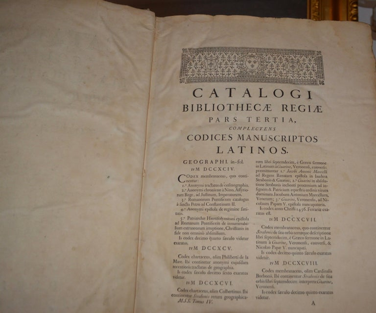 Set of Four Large Thick, 18th Century Leather-Bound Books for Decoration In Fair Condition For Sale In Haddonfield, NJ