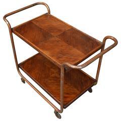 Vintage Italian Mid-Century Bar Cart