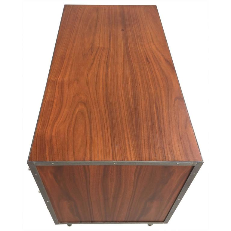Steel Rare Florence Knoll Chest of Drawers