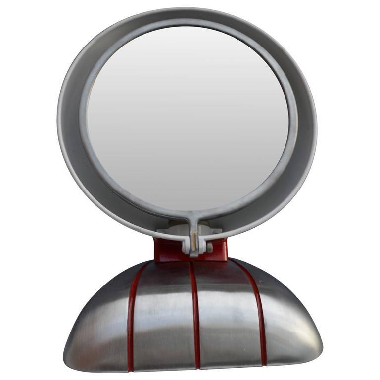 Art Deco Mirolite Illuminated Vanity Mirror For Sale At