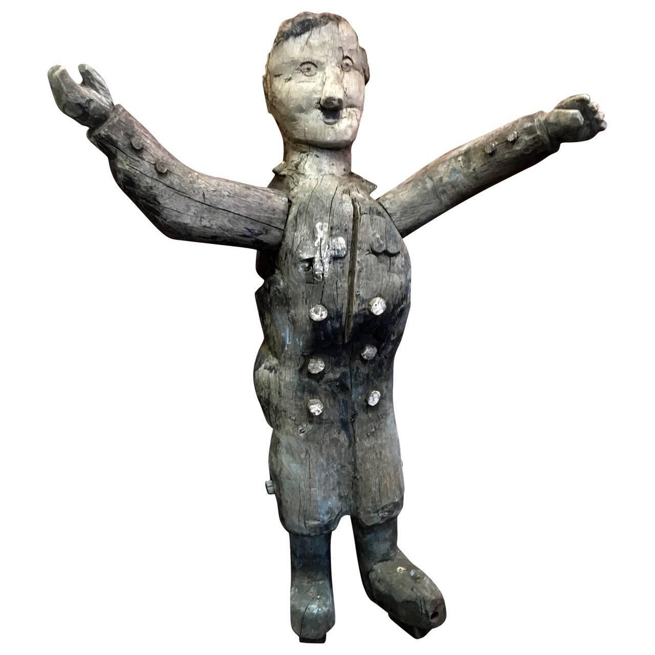 Satirical Hitler Figure from 2nd World War Occupied Denmark