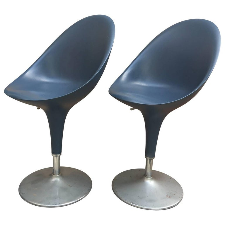 Pair of Modern Italian Chairs by Stefano Giovannoni For Sale