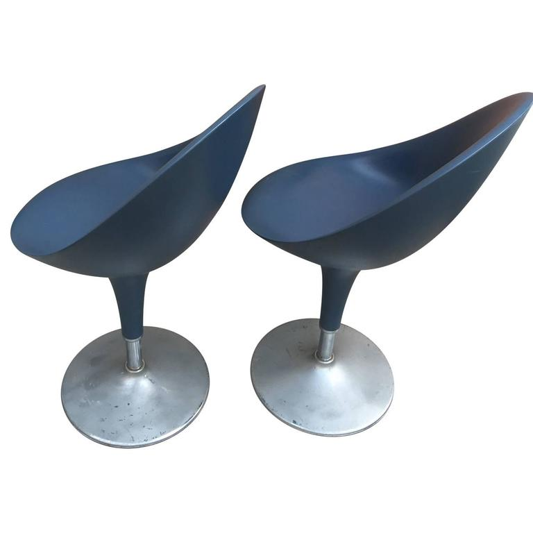 Pair Of Modern Italian Chairs By Stefano Giovannoni For