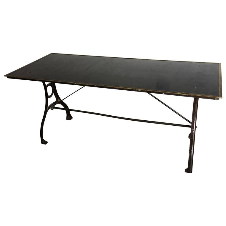 Early Industrial Table From The National Geographic