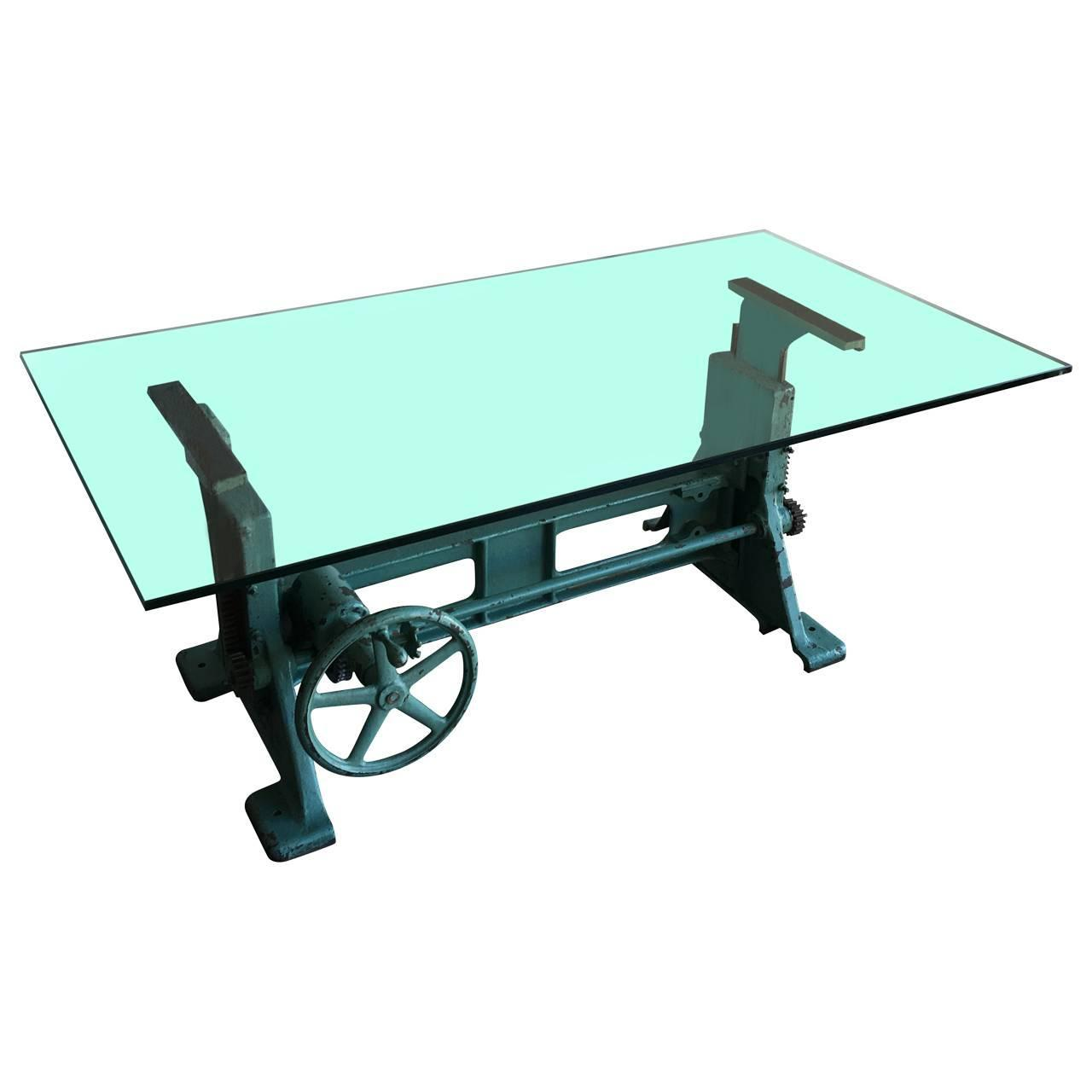 Industrial Dining Table For Sale at 1stdibs : PhotoAug17102032AMz from www.1stdibs.com size 1280 x 1280 jpeg 44kB