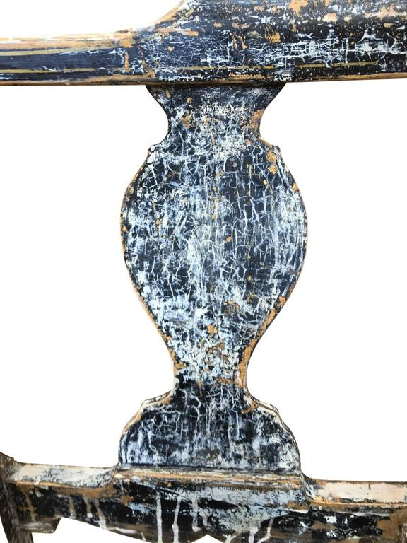 Pair of Swedish Gustavian Corner Armchairs For Sale 2