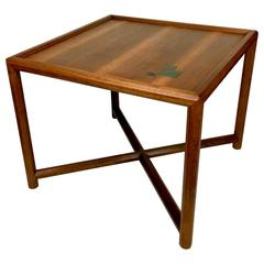 Edward Wormley for Dunbar Occasional Table with Tiffany Tiles