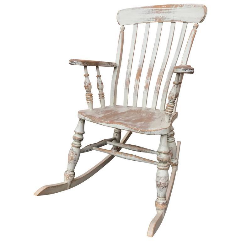Gustavian Rocking Chair Sweden At 1stdibs