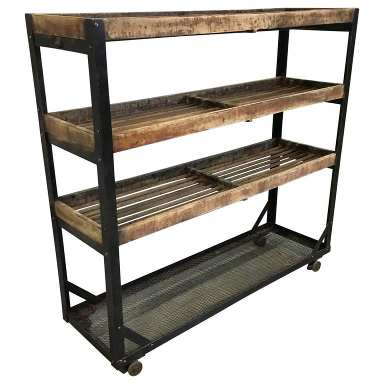 Industrial Kitchen Cart American Modern For Sale At 1stdibs