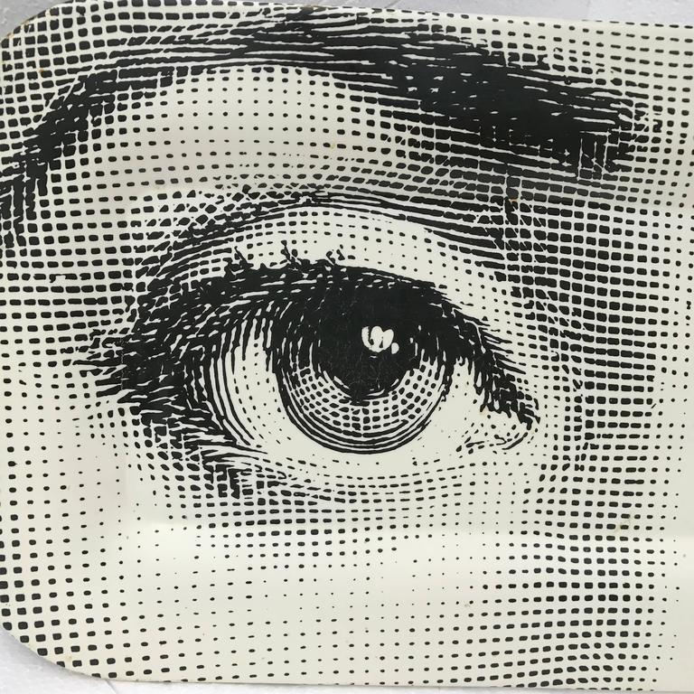 Piero Fornasetti Tray With The Eyes Of Lina Cavalieri At