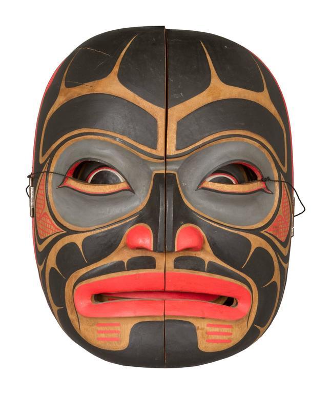 Northwest Coast Transformation Mask At 1stdibs