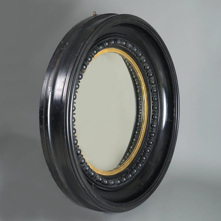 English Massive George IV Convex Mirror For Sale