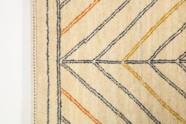 Orley Shabahang Signature Duality Carpet in Handspun Wool and Vegetable Dyes For Sale 3