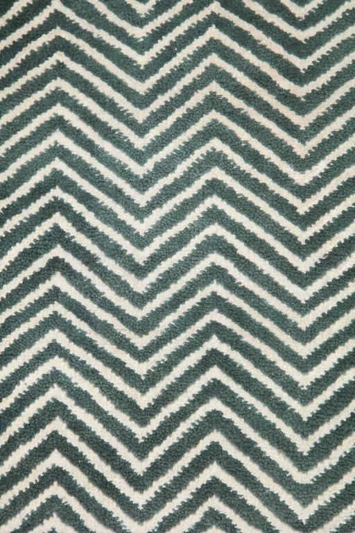 Orley Shabahang Signature Labyrinth Carpet in Handspun Wool and Vegetable Dyes In Excellent Condition For Sale In New York, NY
