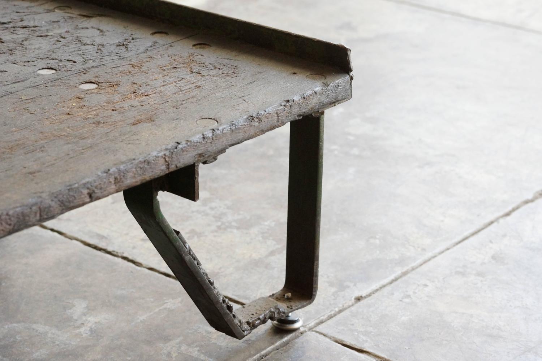 Vintage Industrial Cart Coffee Table At 1stdibs