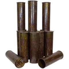 Vietnam Era Howitzer Shell Casings, 1968