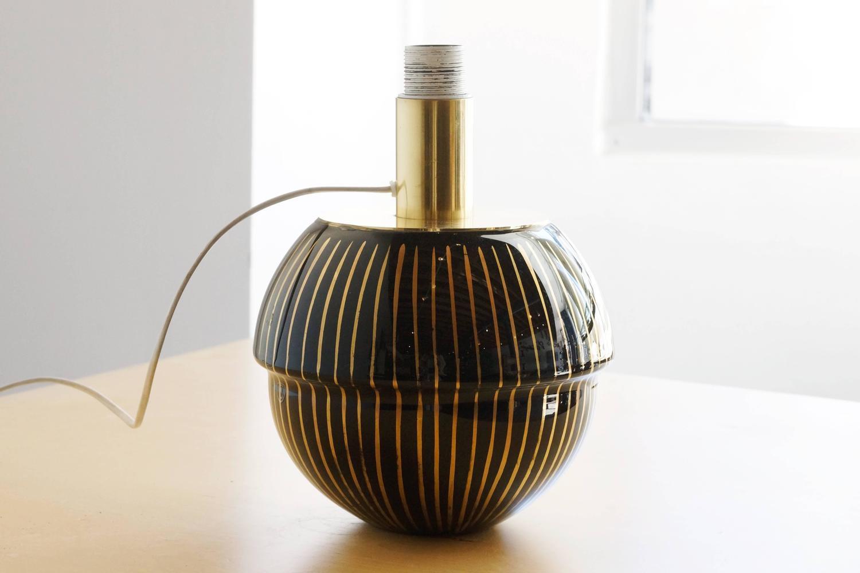 Handmade glass table lamp by murano debiasi at 1stdibs - Hand made lamps ...