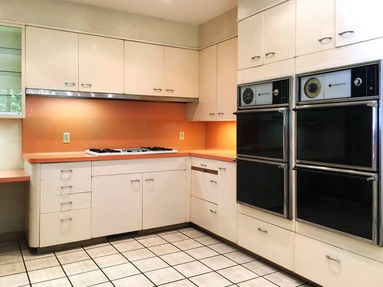 Entire St Charles 1960s Mid Century Modern Kitchen And Pantry