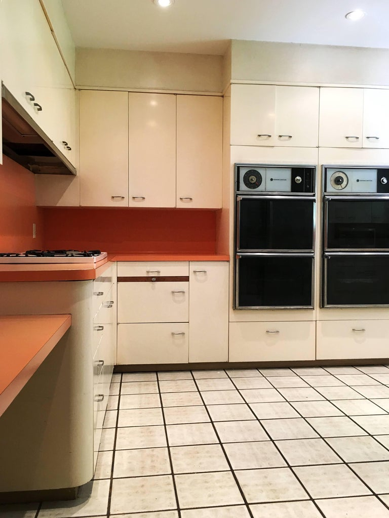 Entire St. Charles, 1960s, Mid-Century Modern Kitchen and ...