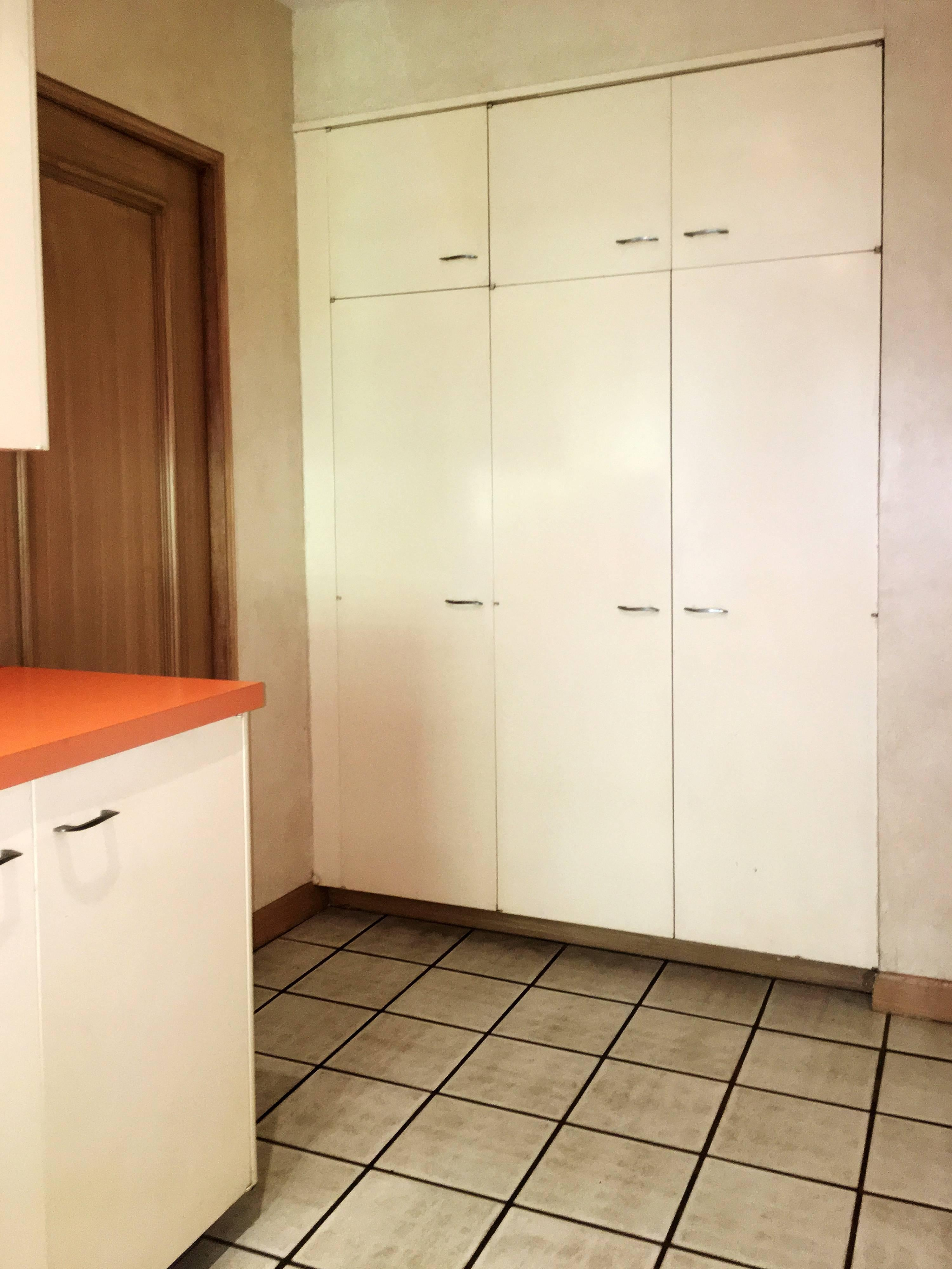 Entire St. Charles, 1960s, Mid-Century Modern Kitchen and Pantry at ...
