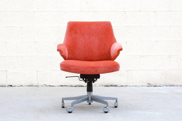 Mid Century Modern Danish Desk Chair By Jacob Jensen For Labofa Mobler 1960s