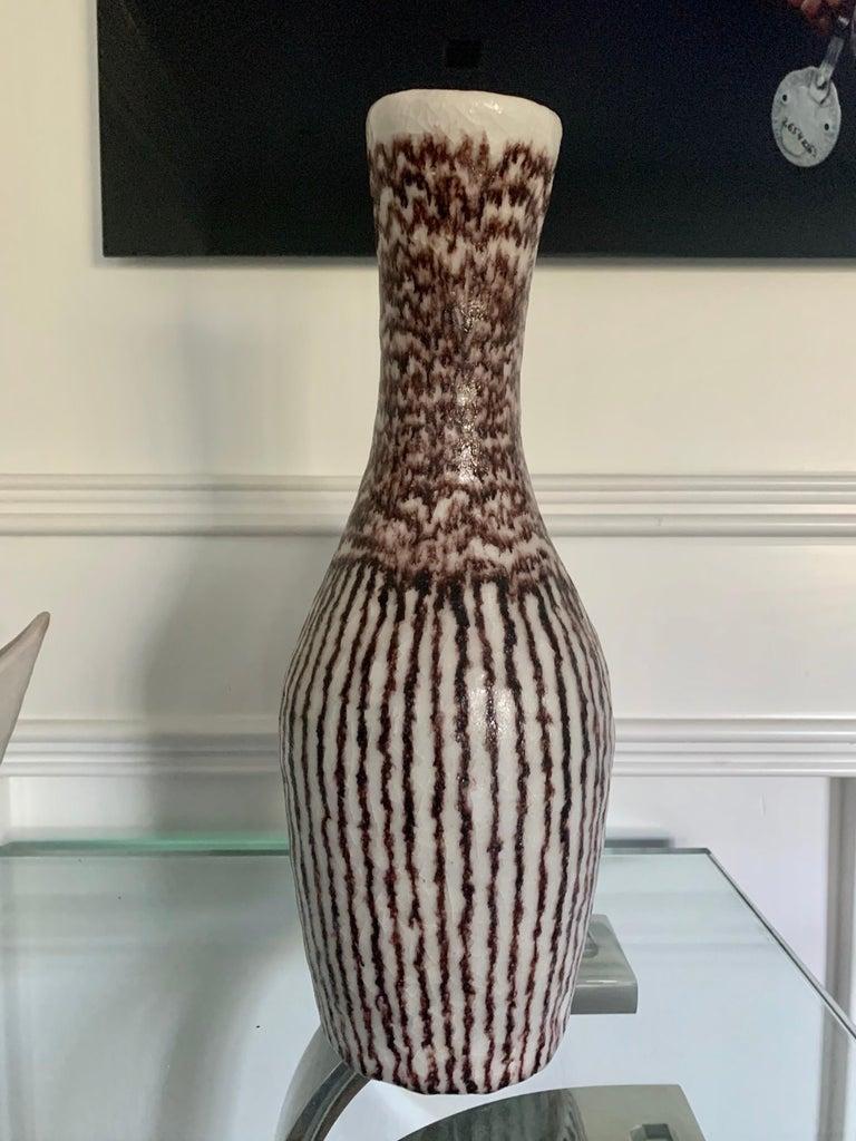 Italian Ceramic Sculptural Pitcher by Guido Gambone For Sale 4