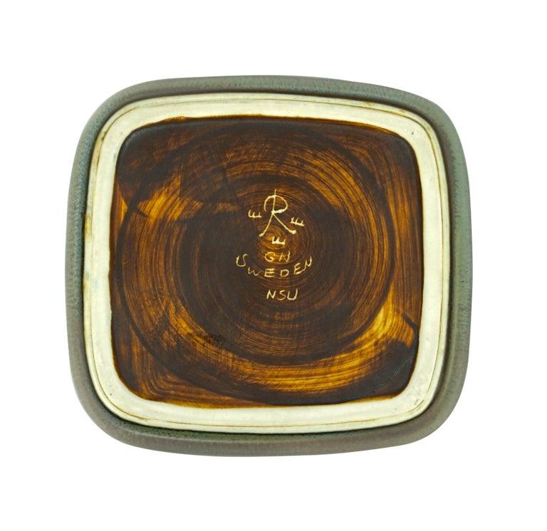 Swedish Gunnar Nylund Ceramic Tray by Rörstrand in Sweden For Sale