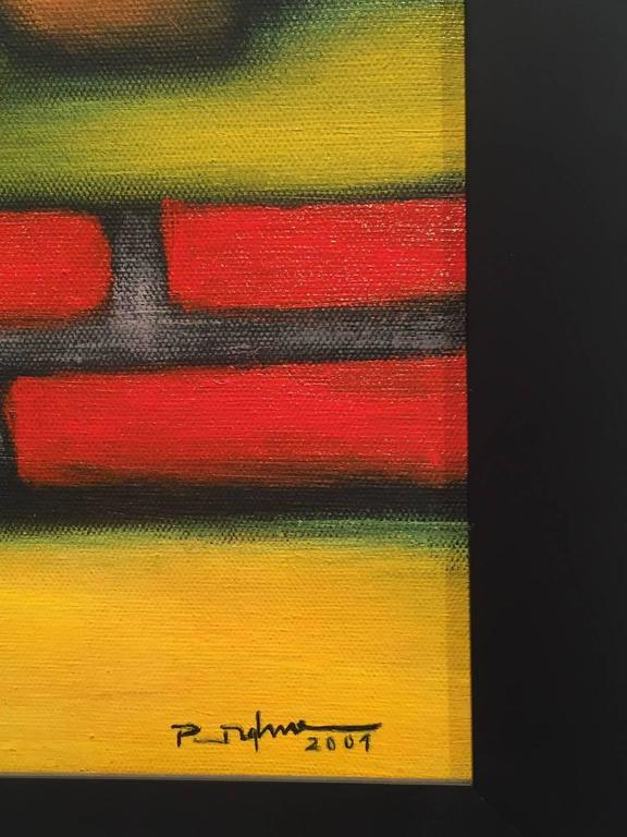 Modernist Painting by Duc Nghia Phan In Good Condition For Sale In North Miami, FL